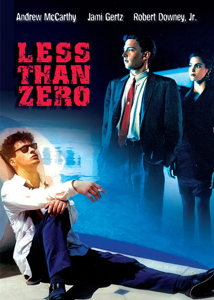 Less Than Zero on Netflix Canada