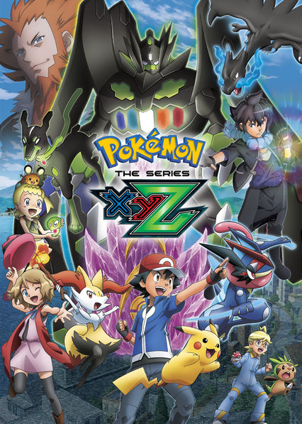 is pokémon the series xyz available to watch on canadian netflix