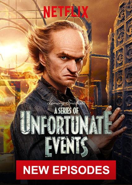 A Series of Unfortunate Events on Netflix Canada