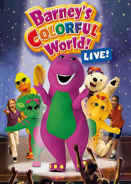 Is 'Barney: Barney's Colorful World: Live' available to