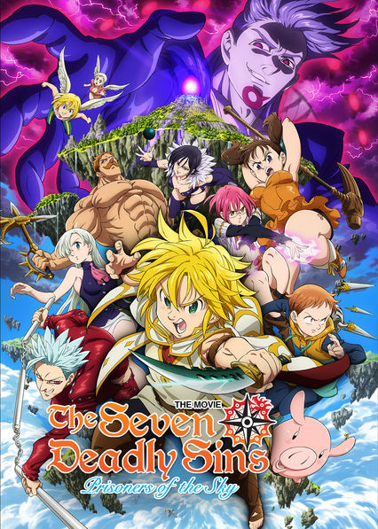 The Seven Deadly Sins the Movie: Prisoners of the Sky on Netflix Canada