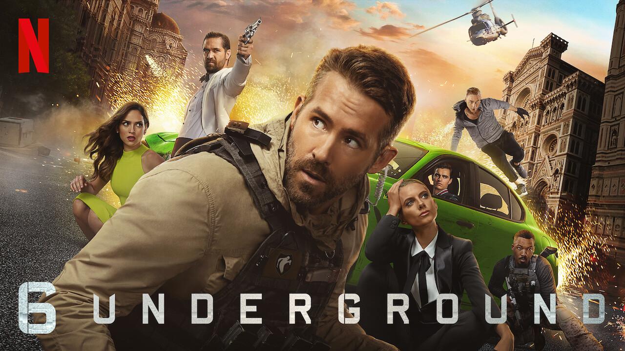 6 Underground on Netflix Canada