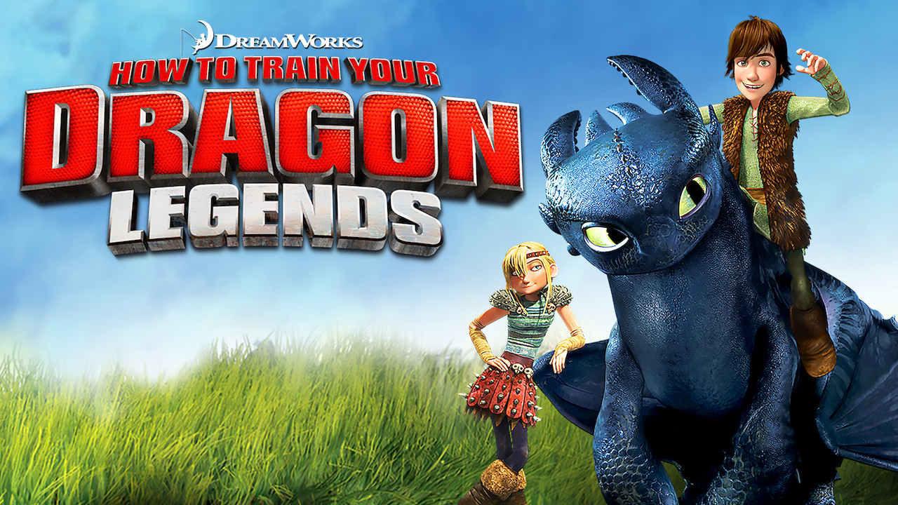 DreamWorks How to Train Your Dragon Legends on Netflix Canada