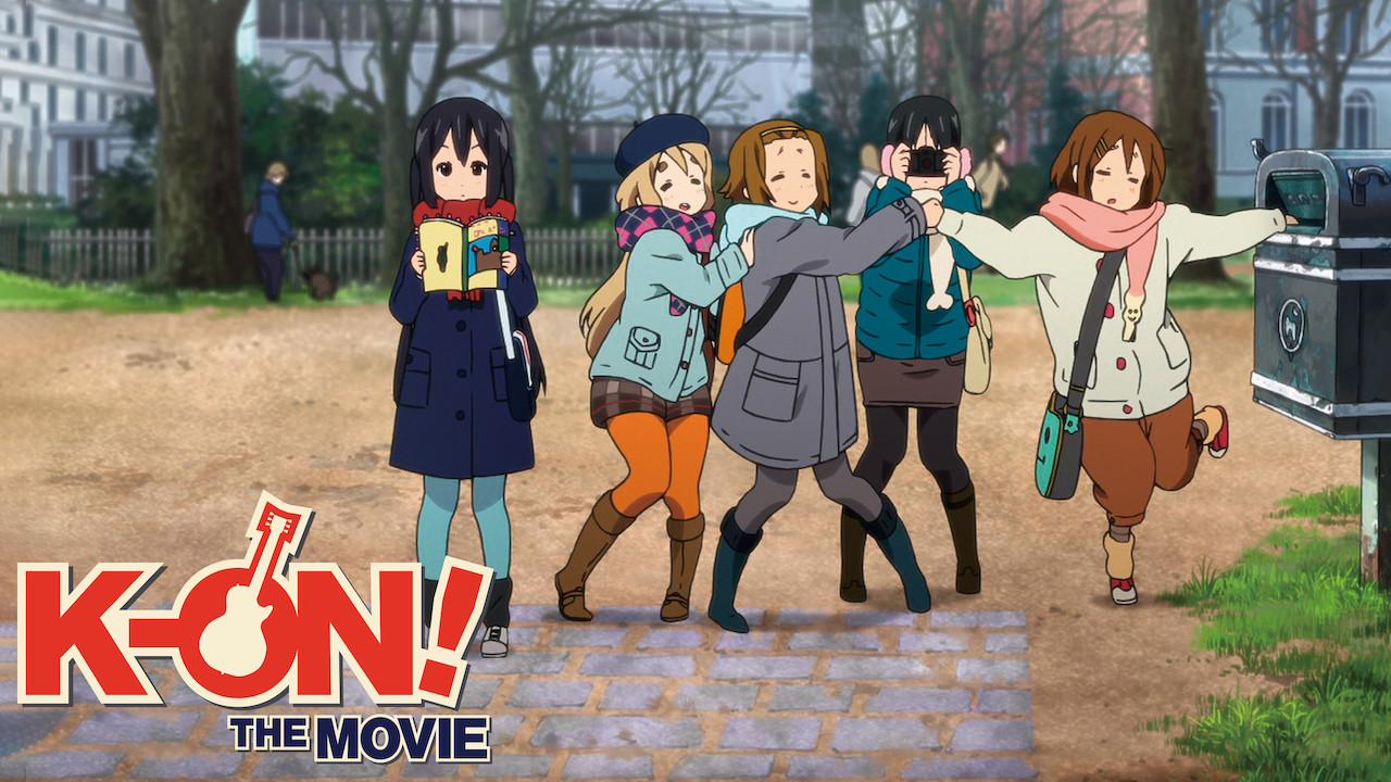 K-on! the movie on Netflix Canada