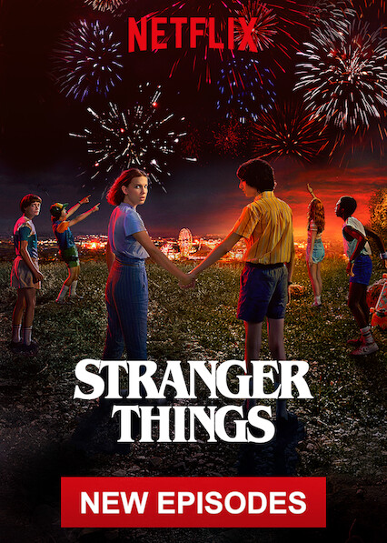 Stranger Things on Netflix Canada