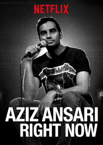 Aziz Ansari: RIGHT NOW on Netflix Canada