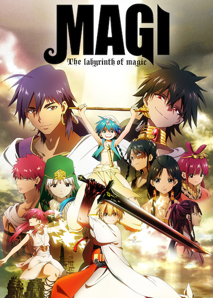 Magi: The Labyrinth of Magic on Netflix Canada
